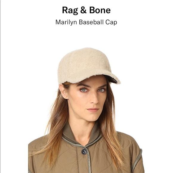 1023ddd73846c Rag   Bone Marilyn Baseball Cap. M 5c507587a31c3397a3ee9d4f